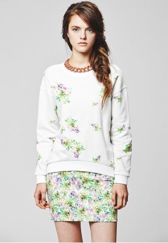 Buy Sweet One Eighty Flower Mini Skirt   ZALORA Singapore