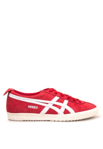 Onitsuka Tiger red Mexico Delegation Sneakers 6E589SH9B6382FGS_1