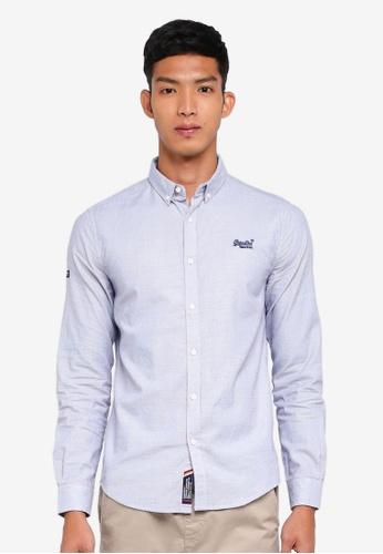 Superdry multi Premium Button Down Long Sleeve Shirt B0B9EAAC99FA74GS_1