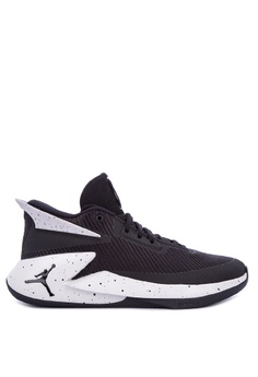 Nike black Men's Nike Jordan Fly Lockdown Basketball Shoes  38A85SH2C1DCBFGS_1