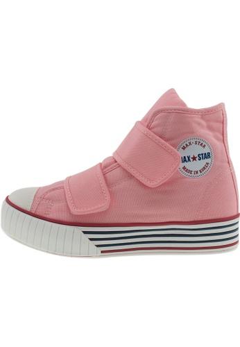 Maxstar Maxstar Women's C30 Dual Velcro Platform Canvas Sneakers US Women Size MA168SH98BURHK_1