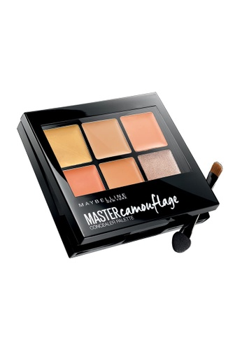 Maybelline brown and beige Maybelline Master Camouflage Concealer Palette Medium 53EB8BE29251F5GS_1
