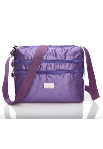 LYCKA purple LYCKA L021 Lady Handbag - Purple BCF8EAC512213BGS_1