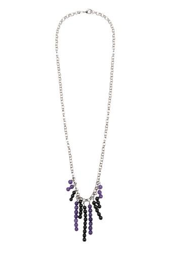 Temuesprit 內衣 彩珠流蘇項鍊, 飾品配件, 飾品配件