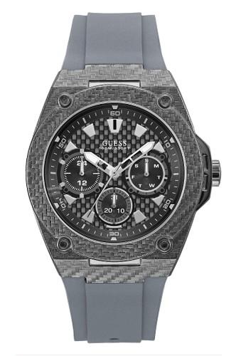 Guess Watch grey Guess Jam Tangan Pria Analog W1048G1 80381AC629EB28GS 1 b1f4baa742
