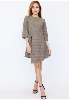 45fb755480 Buy Hook Clothing Long Sleeve Tweed Dress Online | ZALORA Malaysia