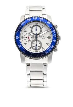 Analog Watch 1674SS-W-PLR
