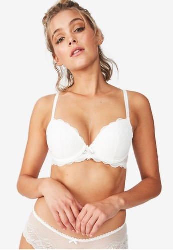 Cotton On Body white Cindy Contour Bra CO561US11KZKMY_1