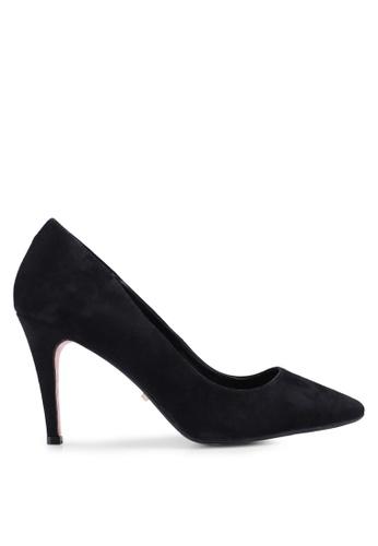 Dune London black Angelle Mid Heel Court Heels 9D245SHA76CEEDGS_1