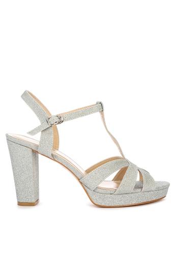 Matthews silver Hudson Heeled Sandals CD58BSH5BED0A4GS_1
