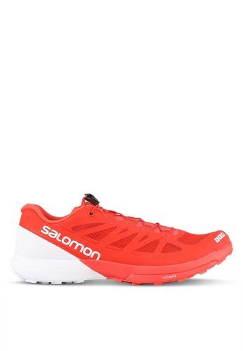 Salomon red S-Lab Sense 6 Shoes SA438SH0S7KEMY_1