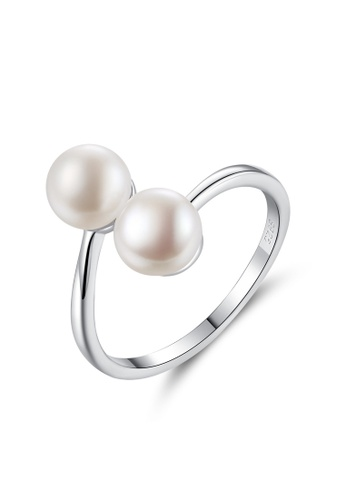 A.Excellence white Premium White Pearl Ring 4BAE6AC32FB541GS_1