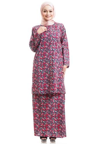 Ashura multi Fazia Kurung Cotton Pahang 18F26AA651C64CGS_1