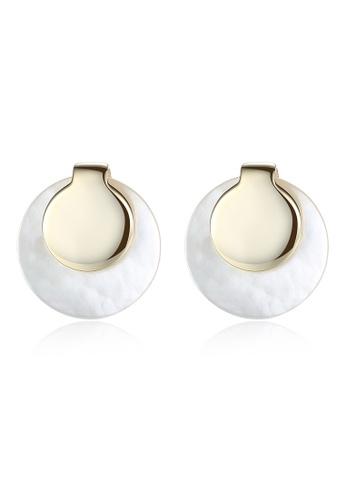 A.Excellence white Premium White Pearl Elegant Earring 81441AC67BE9E4GS_1