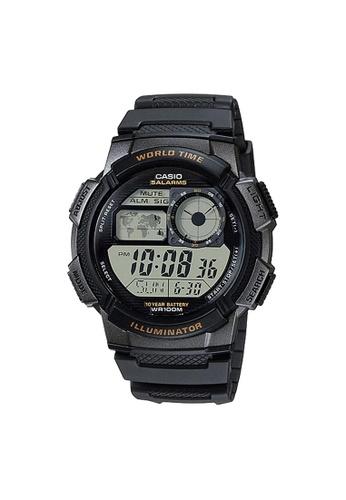 Casio black Casio Sports Digital Watch (AE-1000W-1A) E467CACB0A2EEBGS_1