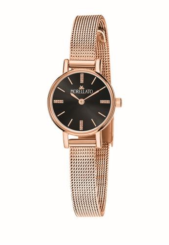 Morellato gold Ninfa Quartz Watch R0153142529 Rose Gold Stainless Steel Strap 9CECCAC971B3A1GS_1