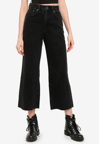 The Ragged Priest black Grip Cropped Skater Jeans B9623AA57808E9GS_1