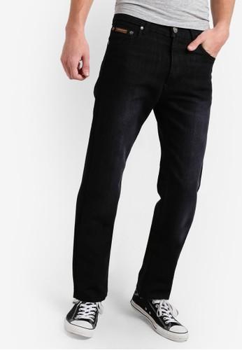 505 舒適直筒丹寧牛zalora是哪裡的牌子仔褲, 服飾, 服飾