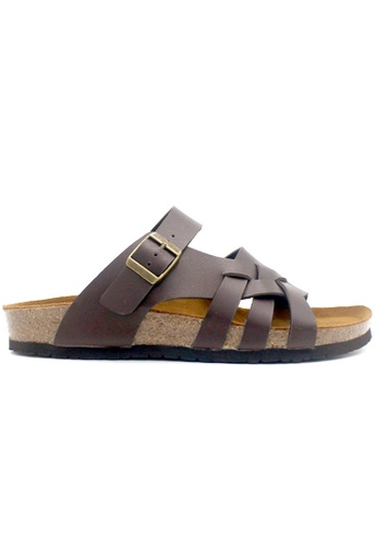 SoleSimple brown Istanbul - Brown Sandals & Flip Flops 515C7SH6FACF74GS_1