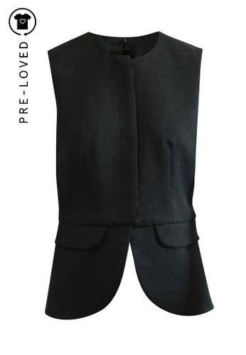 Emporio Armani black Pre-Loved emporio armani Classic Black Vest 31A28AA3F13F2BGS_1