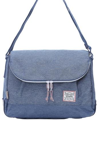 Caterpillar Bags & Travel Gear blue Essential Original Round Shape Shoulder Bag CA540AC90ISNHK_1