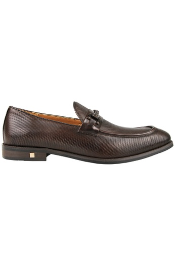 Tomaz brown Tomaz F206 Buckle Loafers (Coffee) 0C367SH8375043GS_1