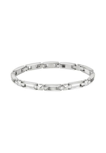 Morellato silver Morellato Cross Silver Steel Bracelet SKR58 782FFAC9041A00GS_1