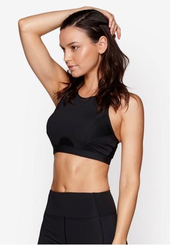網眼拼接多帶運動胸罩, 服esprit 床上用品飾, 運動