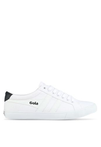 Gola white Varsity Sneakers D3211SH41B383AGS_1