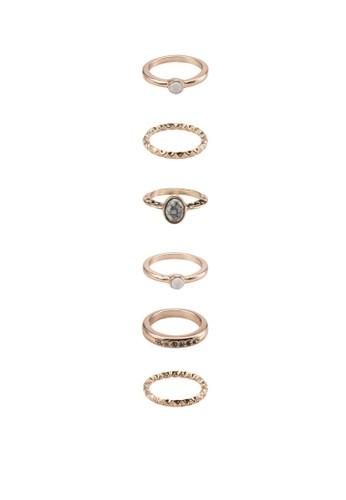 六入戒指組合, esprit地址韓系時尚, 梳妝