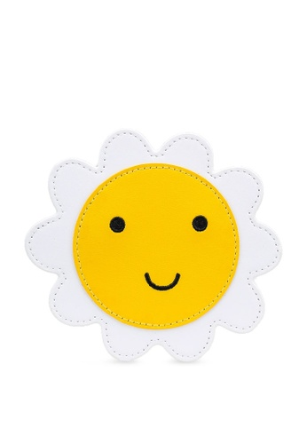 Cath Kidston yellow Solid Novelty Daisy Purse 01142KCC395421GS_1