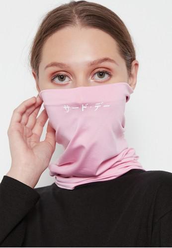 Third Day pink Masker Kain 4-In-1 Buff X Breathe 1 Set Isi 3 Pcs Katakana 71398ES6422121GS_1