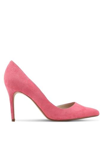 Mango pink Asymmetric Stiletto Heels D0BD0SHC22C918GS_1