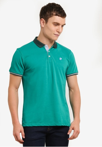 Private Stitch green Polo Tees with Owl Embroidery PR777AA0S8QFMY_1