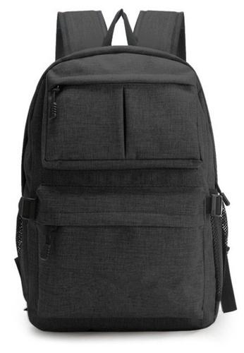 Jackbox black Korean Fashion Slim Design Ipad Laptop Bag with USB Charging Port Backpack 537 (Black) C70AFAC606A7EEGS_1
