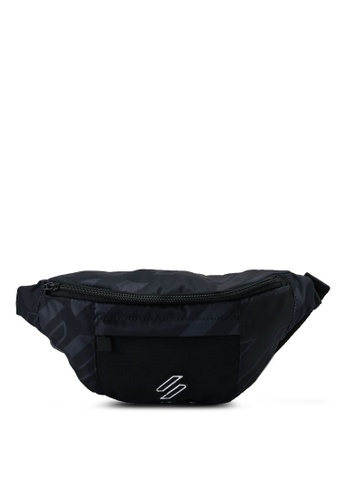 SUPERDRY black Sportstyle Nrg Aop Bum Bag - Sportstyle Code B52C4AC89A573DGS_1