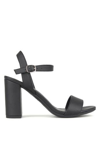 Betts black Karly Block Heel Sandals 27FE0SH67D2984GS_1