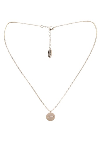 Orelia London gold Aries Constellation Necklace OR747AC0SC33MY_1