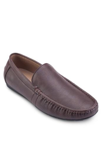 esprit旗艦店仿皮休閒莫卡辛鞋, 鞋, 鞋