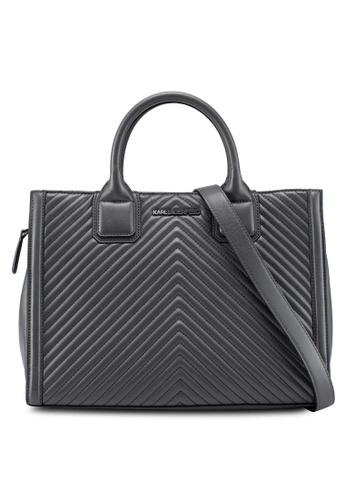 Karl Lagerfeld Yellow Klassik Quilted Tote Bag 03058acdec54degs 1