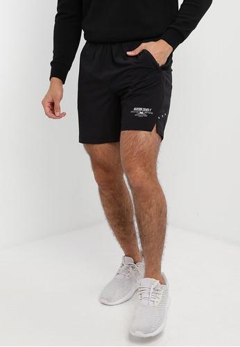361° black Running Series Sports Shorts 742C5AA8C08644GS_1