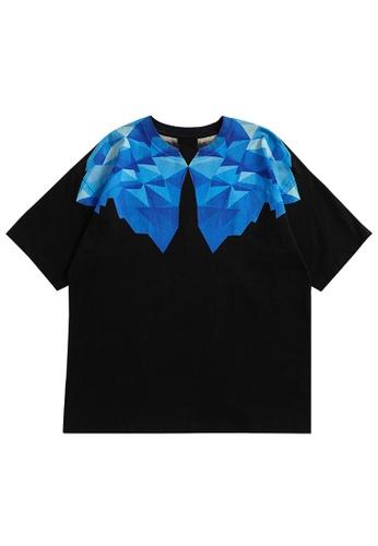 Twenty Eight Shoes Trend Printed Short T-shirt 5195S21 CC917AAA34B60CGS_1