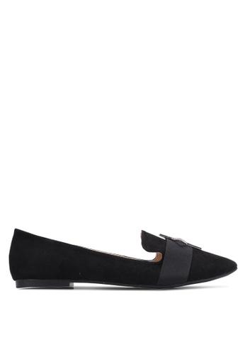 TOPSHOP 黑色 Star 裝飾 包鞋 TO412SH0S30LMY_1