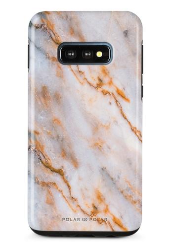 Polar Polar brown Coffee Cream Samsung Galaxy S10E Dual-Layer Protective Phone Case (Glossy) 8B675AC5A790DFGS_1