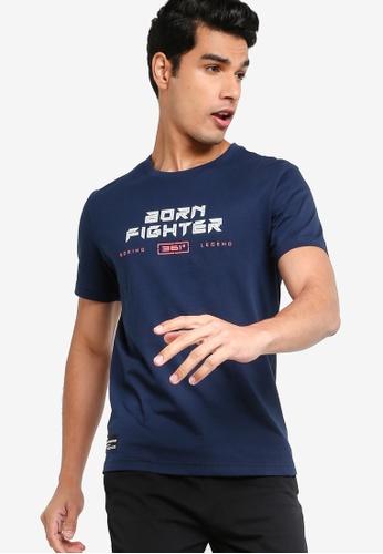 361° blue Cross Training Short Sleeves T-shirt 78FFBAA450AD4CGS_1
