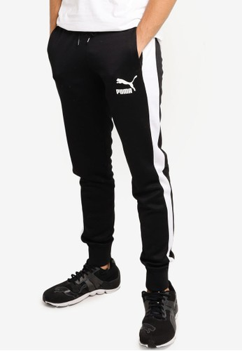 PUMA black Puma Sportstyle Prime Iconic T7 Track Pants EBDA4AA2055631GS_1