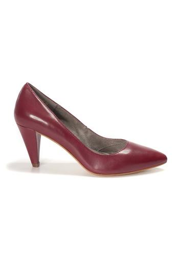 Shu Talk 紅色 AMAZTEP 簡潔尖頭高跟鞋 0A4A3SH6A7D0F8GS_1