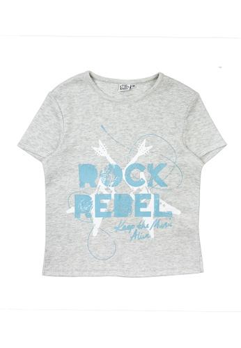 Vauva grey Vauva Kooala Boys Rock Rebel Tee D66AFKA6E0FA9EGS_1