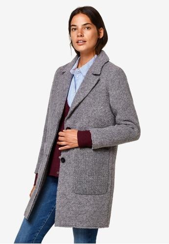 ESPRIT grey Woven Regular Coat 640C4AA1E2D57AGS_1