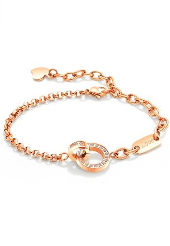 Trendyshop gold CZ Bracelets AD5EAAC6BA8AE2GS_1
